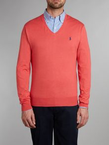 Polo Ralph Lauren Pima cotton v neck jumper