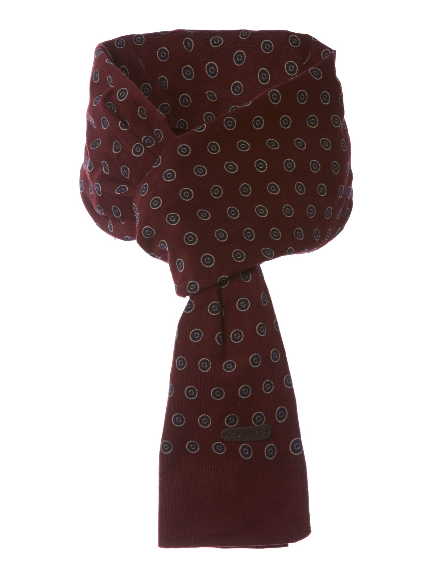 Printed dot scarf