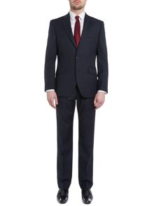 New & Lingwood Hatch Stripe Herringbone Nested Suit