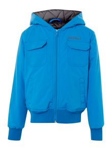 Quiksilver Boys hooded rain jacket