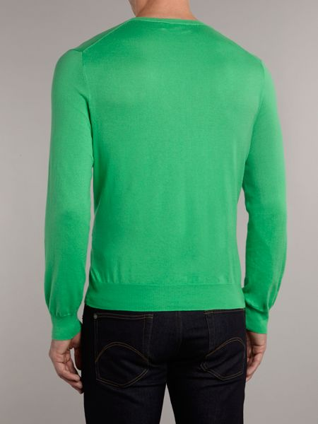 Polo Ralph Lauren Pima cotton slim fit crew neck jumper