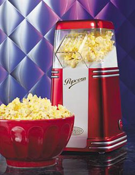 Nostalgia Nostalgia retro mini hot air popcorn maker