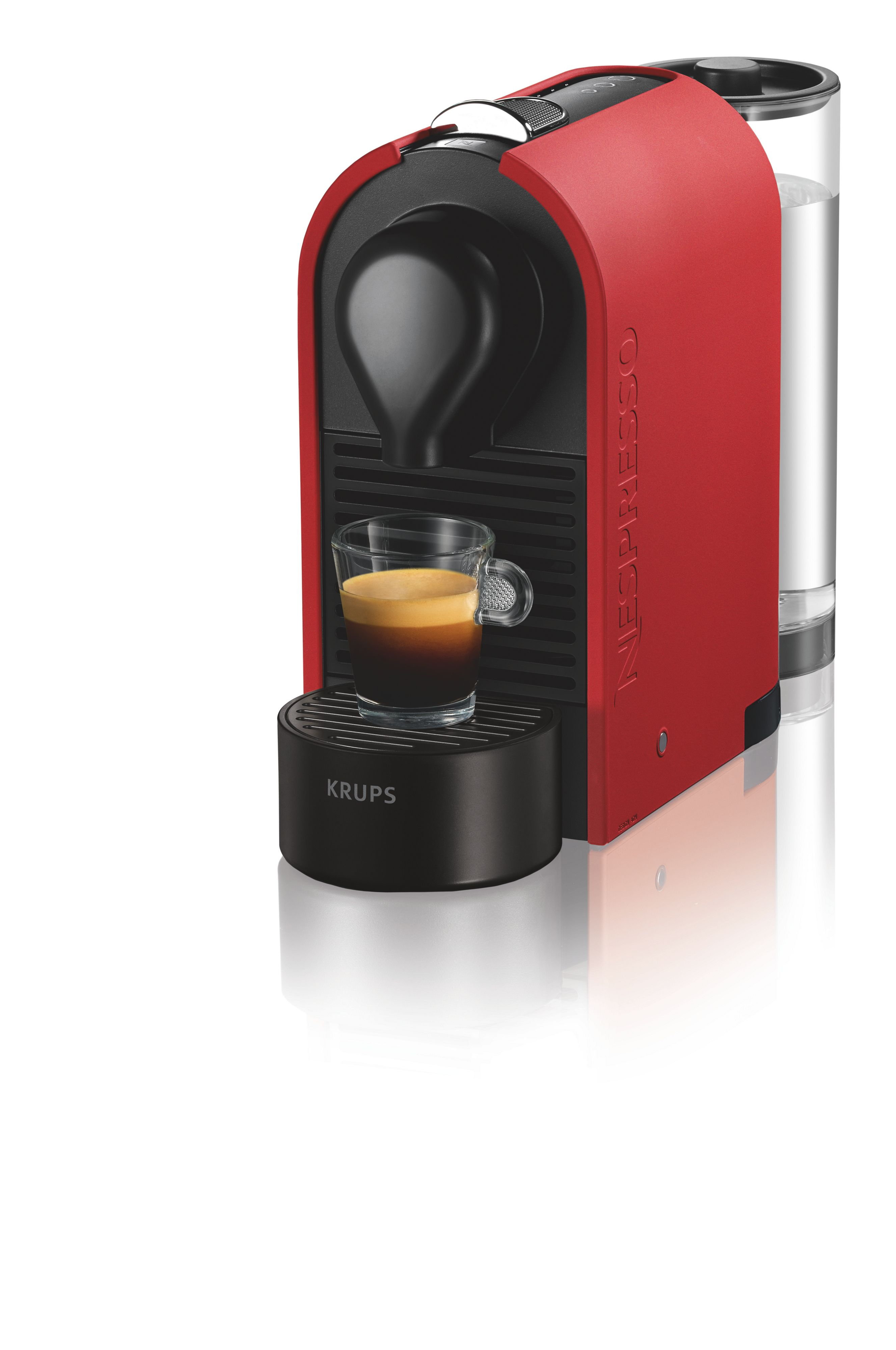 Nespresso Krups U Matt Red Bundle XN2505AP