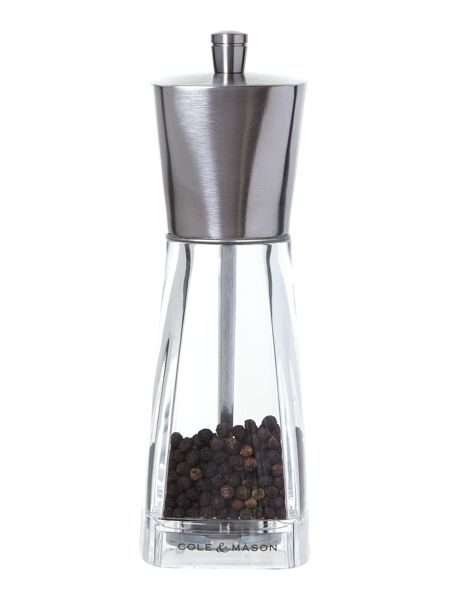 Cole & Mason York precision stainless steel pepper mill