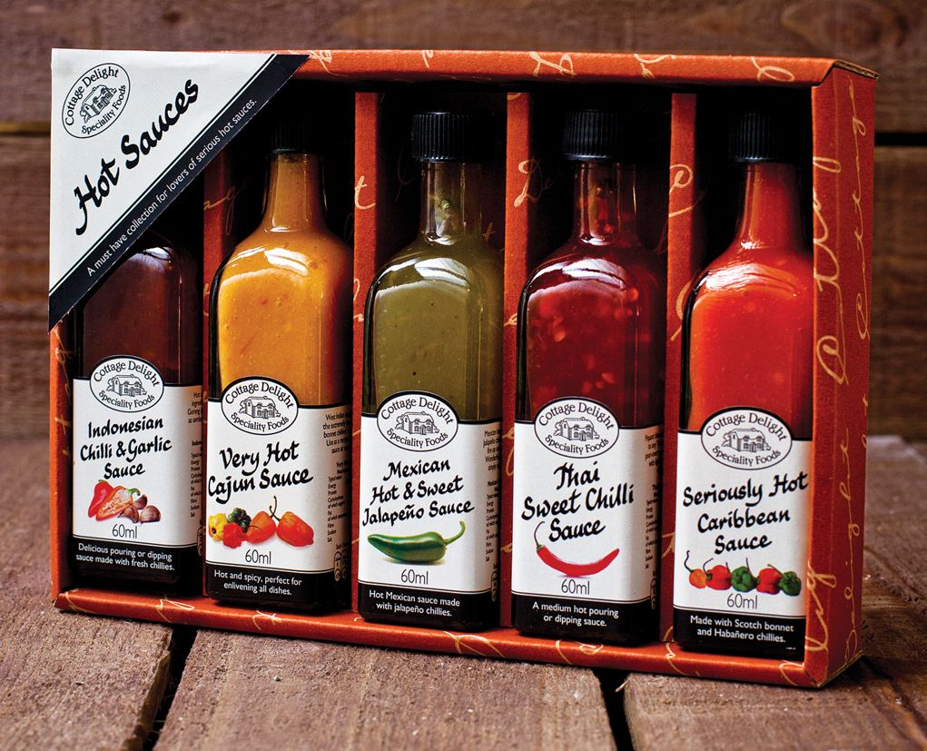 Cottage Delight hot sauces