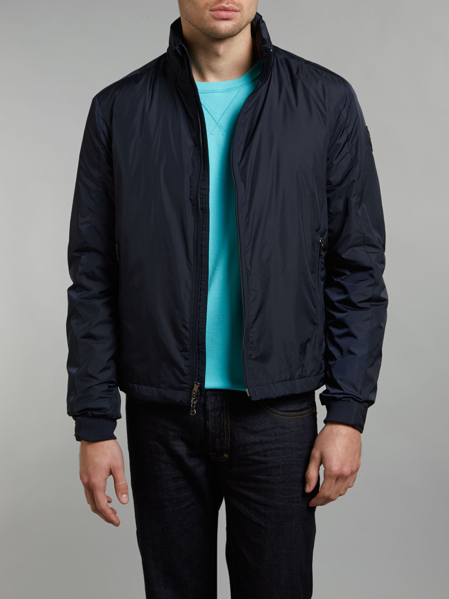 Detachable hooded jacket