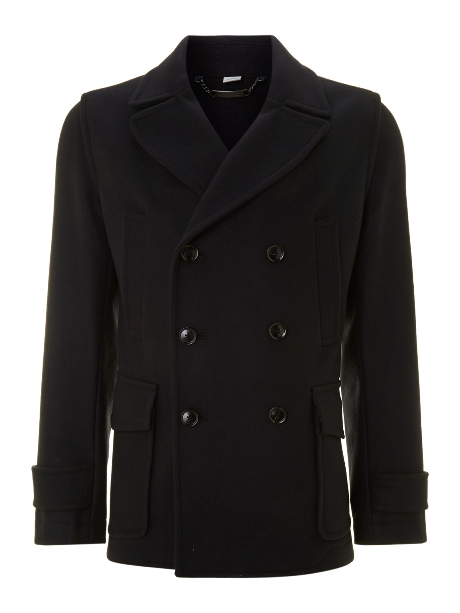 Classic regular fit peacoat
