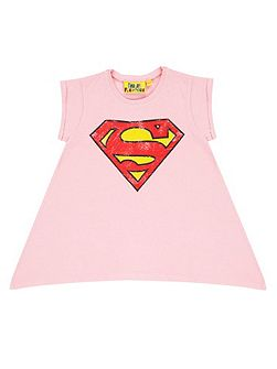 Girls Supergirl Logo T-Shirt