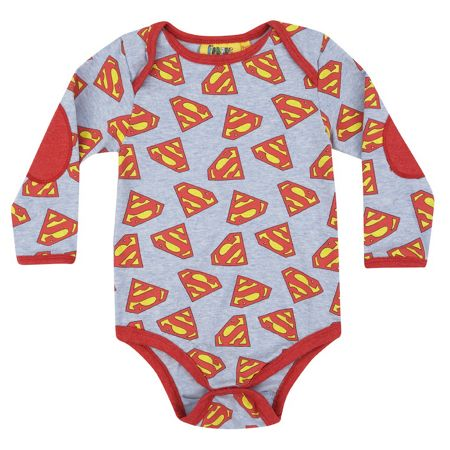 Fabric Flavours Baby Boys Superman Bodysuit