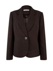 Chocolate tailored jacket