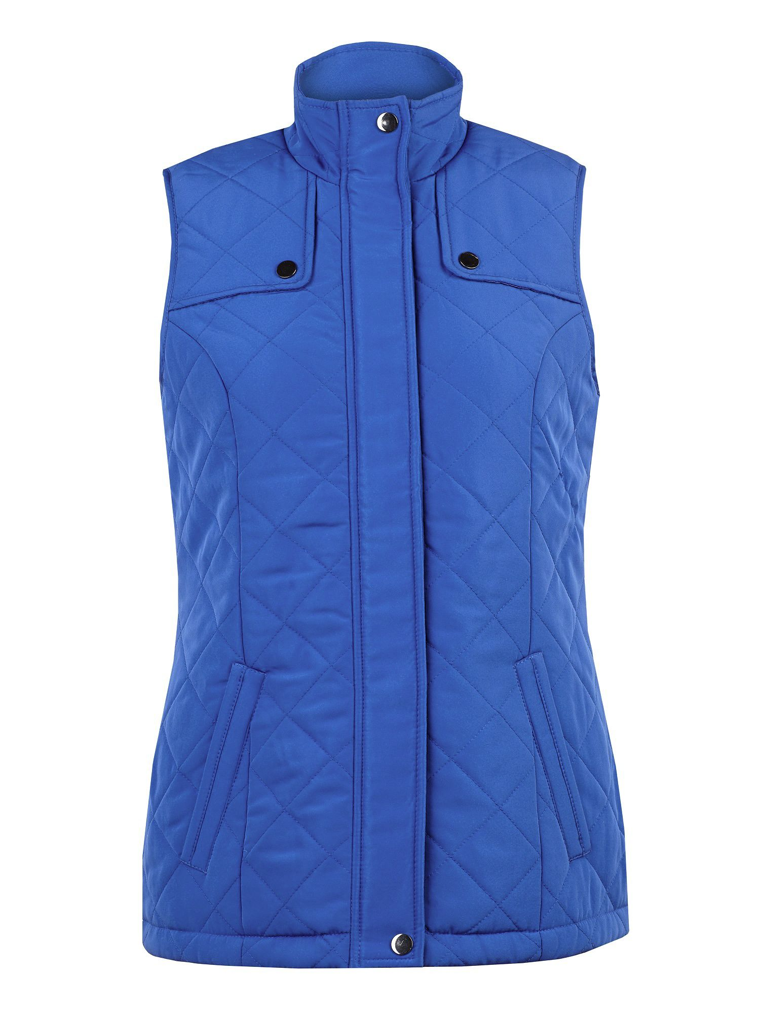 Picasso diamond quilted gilet