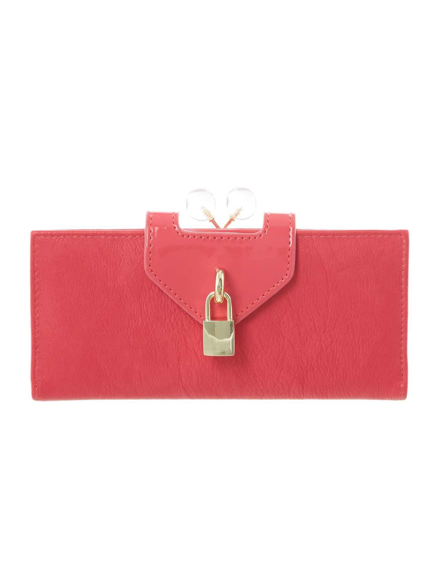 Portia large padlock purse