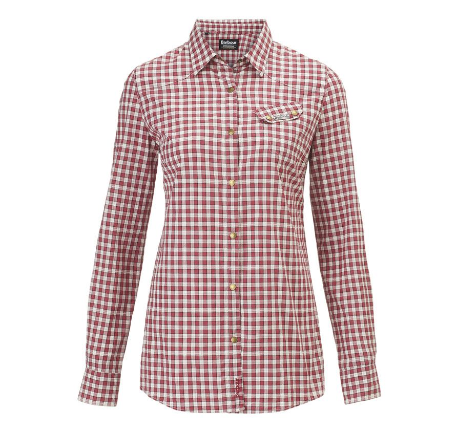 Gingham Style Check Crookham Shirt