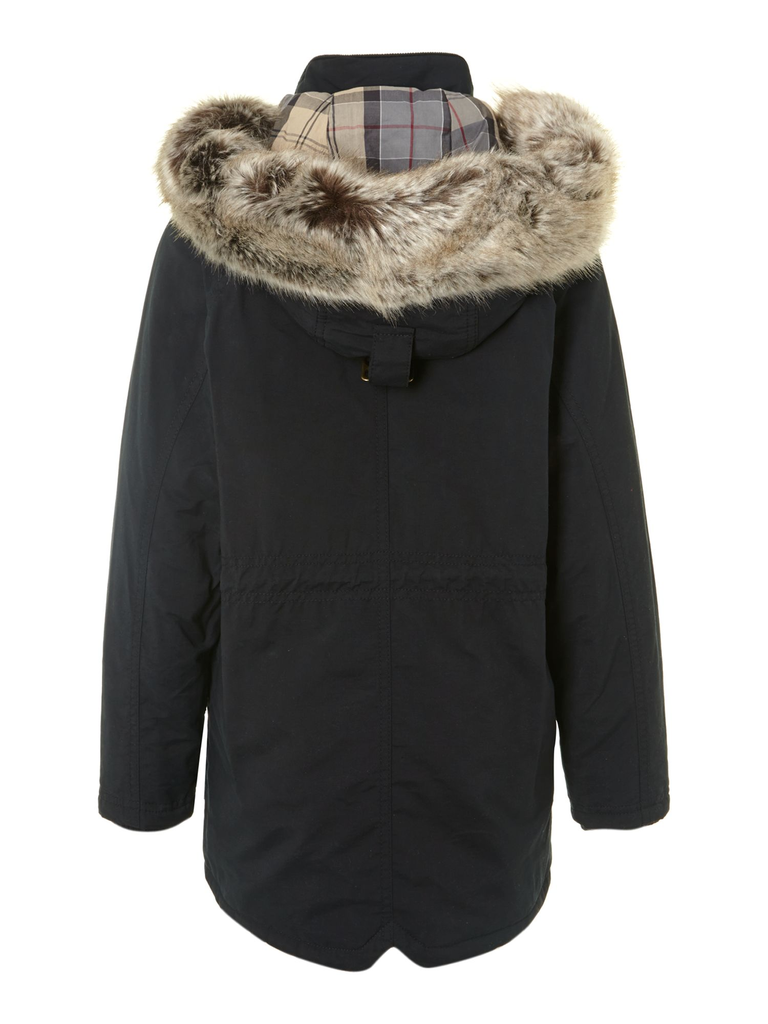 Boy`s outdoor parka jacket