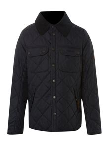 Boy`s quilted jacket