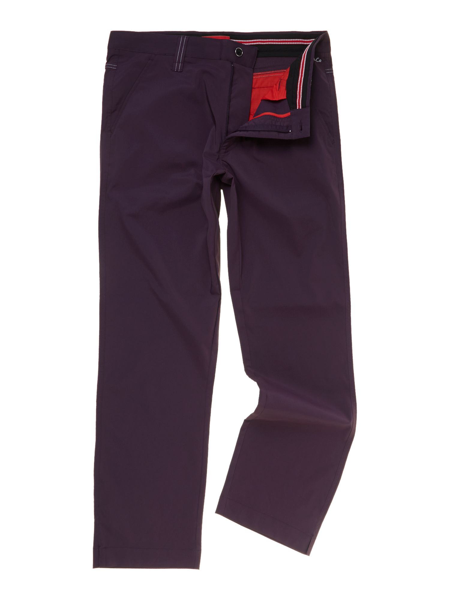 Dwyers and Co Men's Dwyers and Co Micro tech 2.0 trouser, Grape