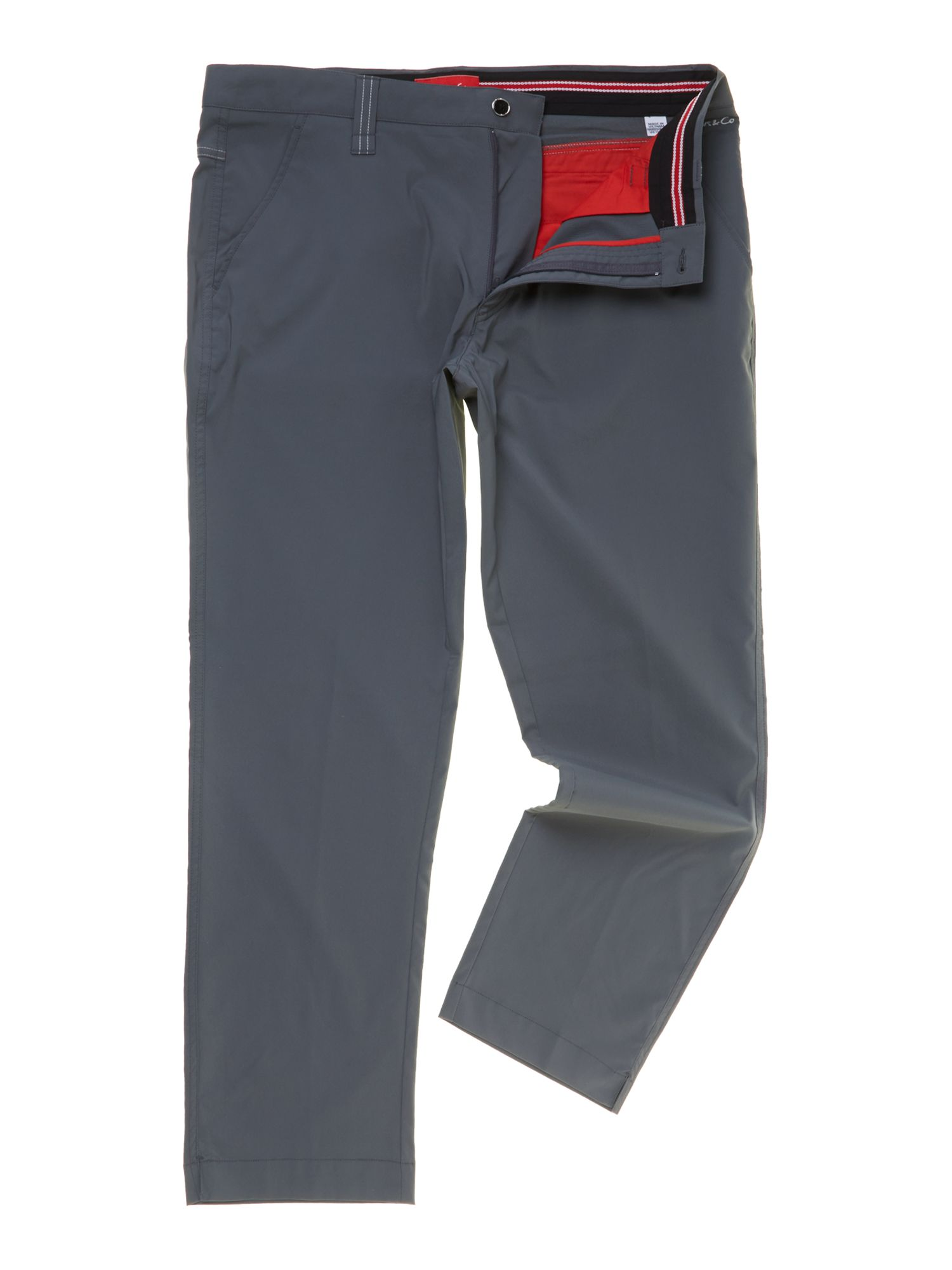 Dwyers and Co Men's Dwyers and Co Micro tech 2.0 trouser, Steel