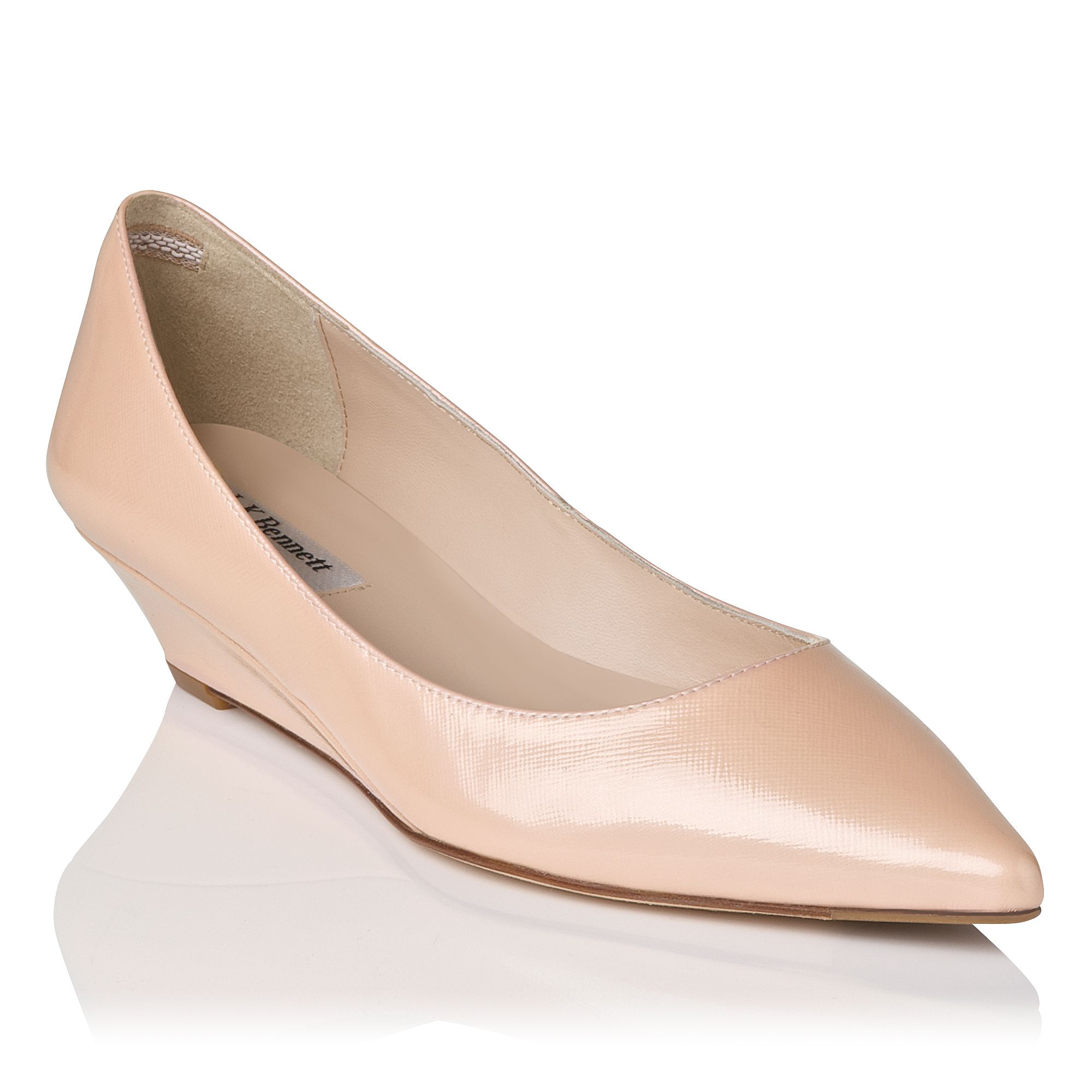 Perla pointed court shoes