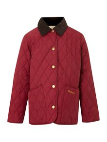Girl`s Shaped Liddesdale quilted jacket