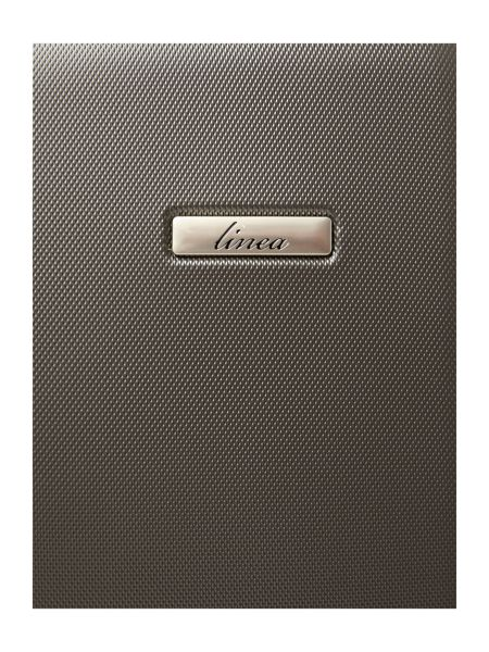 Linea Capetown grey 2 wheel hard cabin suitcase