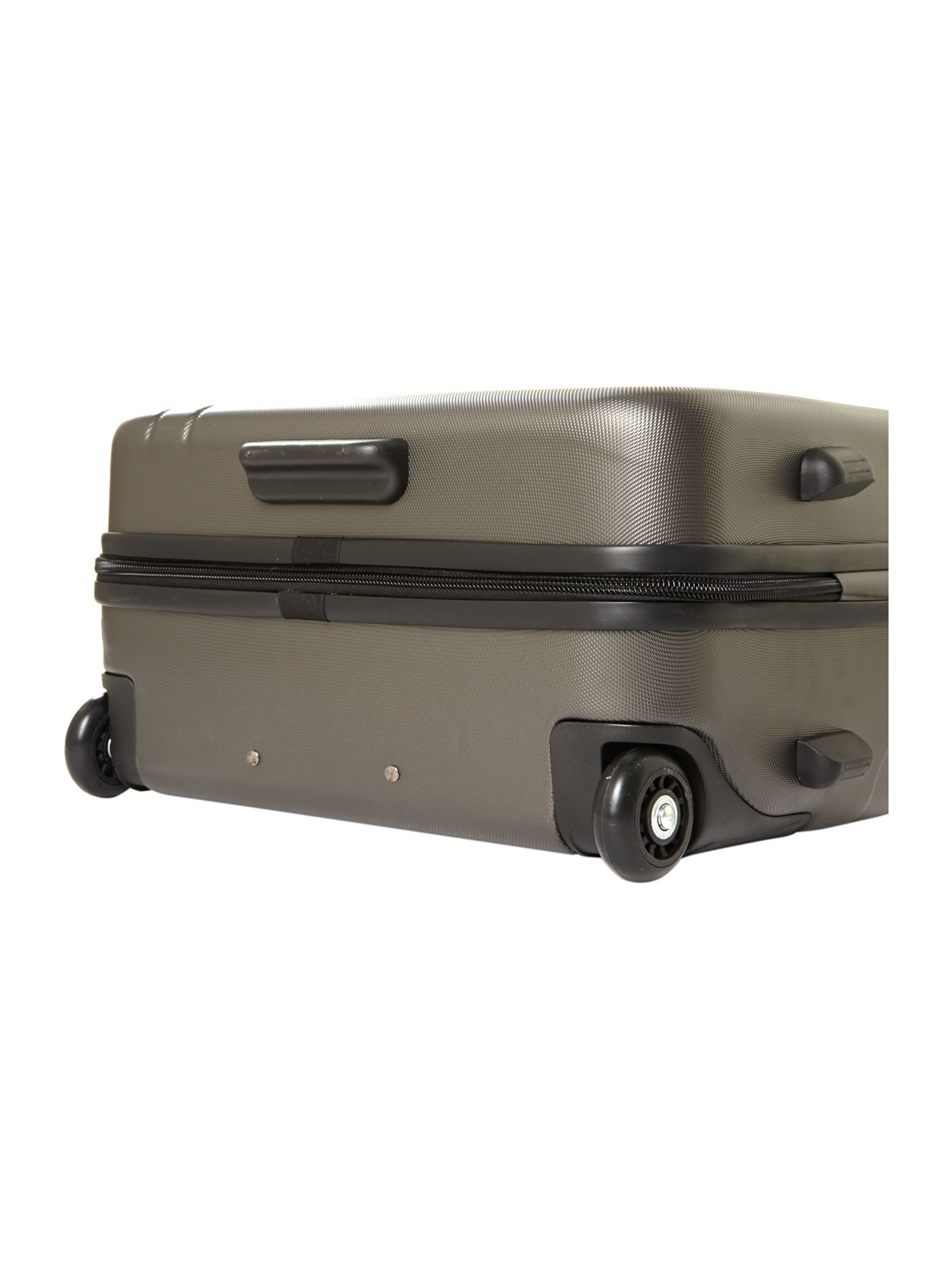 Capetown grey 2 wheel hard medium suitcase