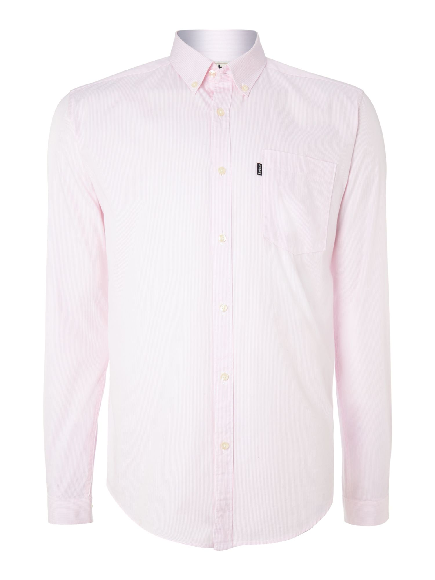 Rathburn fine stripe long sleeve shirt