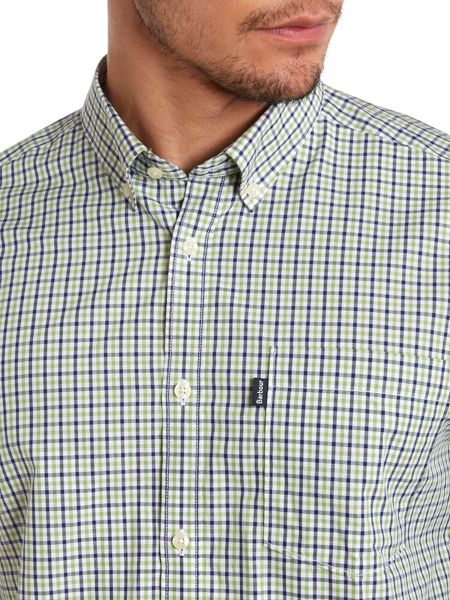 Barbour Kentmere long sleeve checked shirt