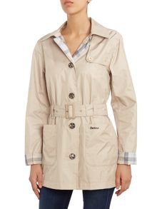 Barbour Oak Revisible Trench Coat