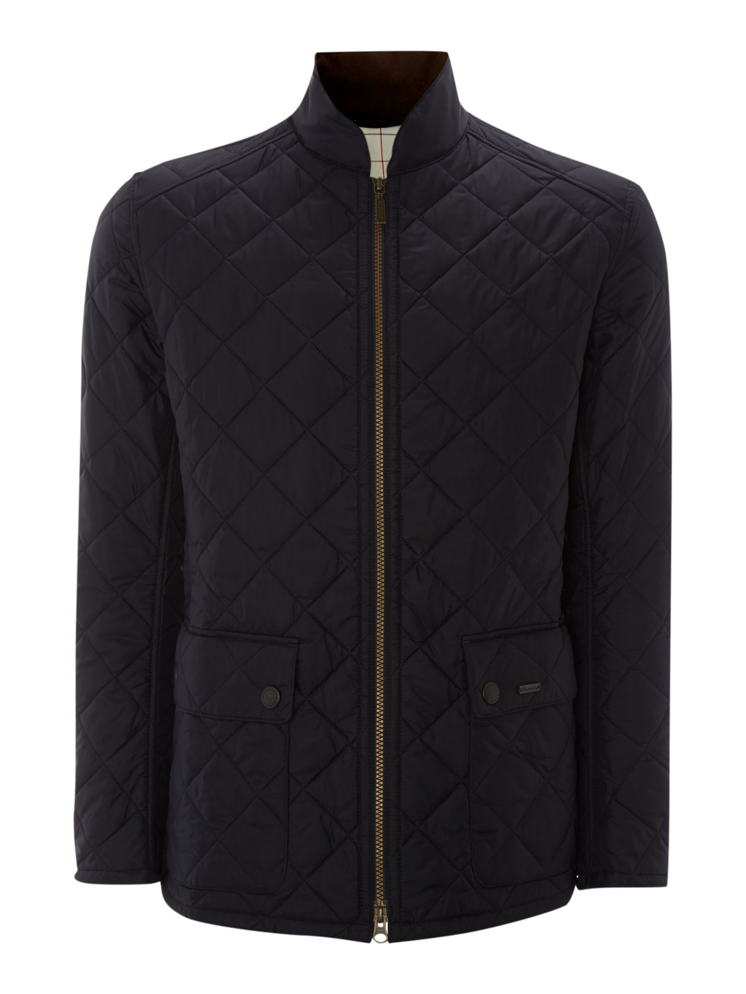 Ledger quilted jacket