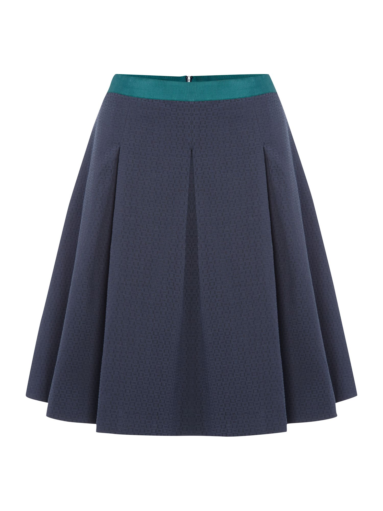 Ladies square jacquard skirt