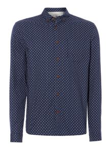 Jules geometric printed long sleeved shirt