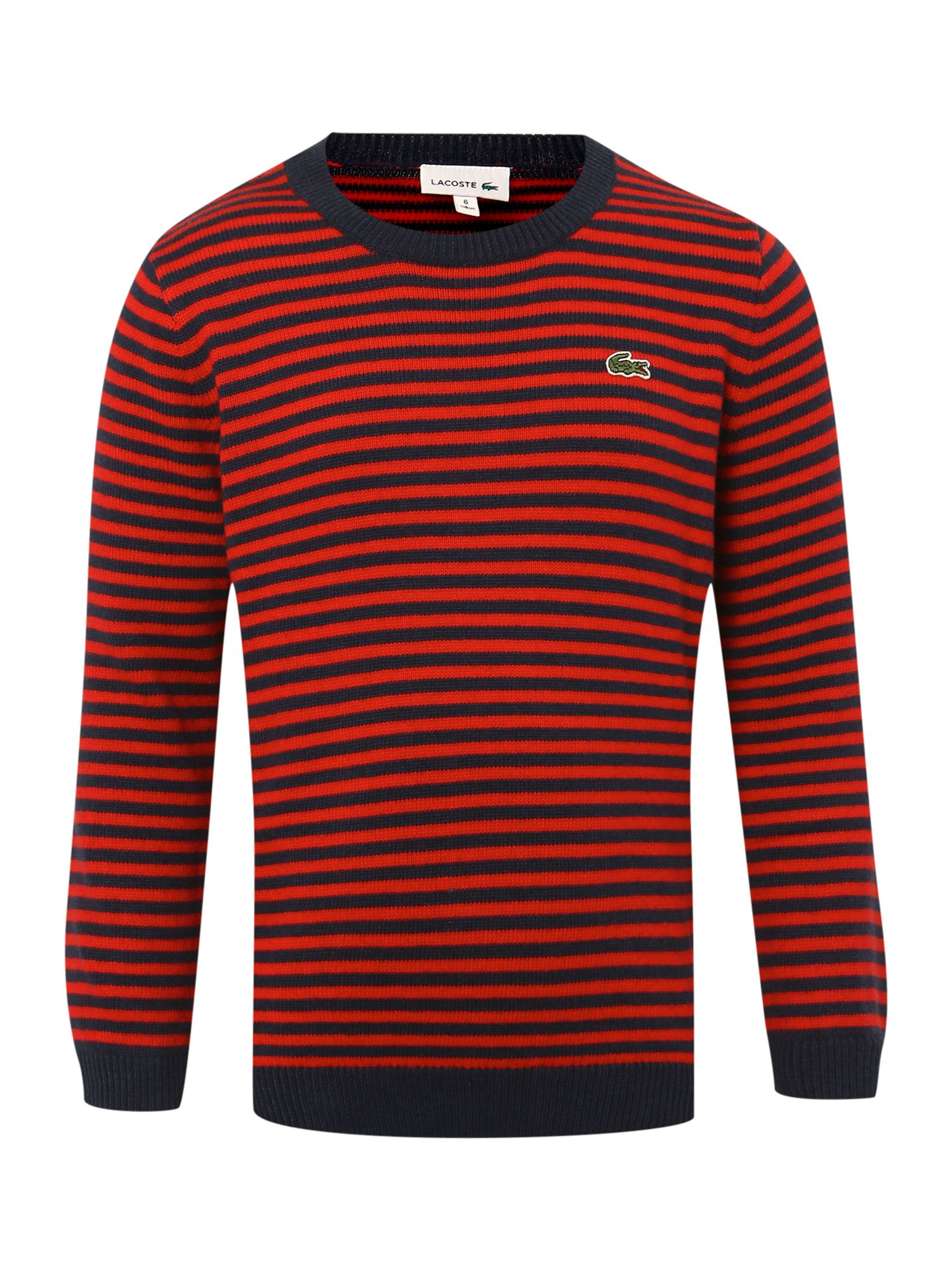 Boy`s stripe knit