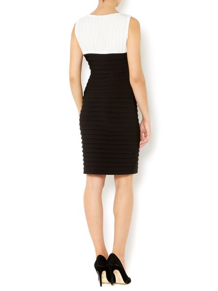 Episode Pleated Monochrome Dress