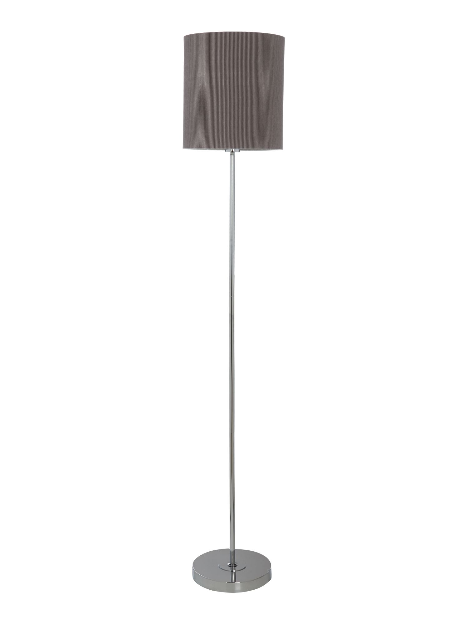 Blaine grey floor lamp
