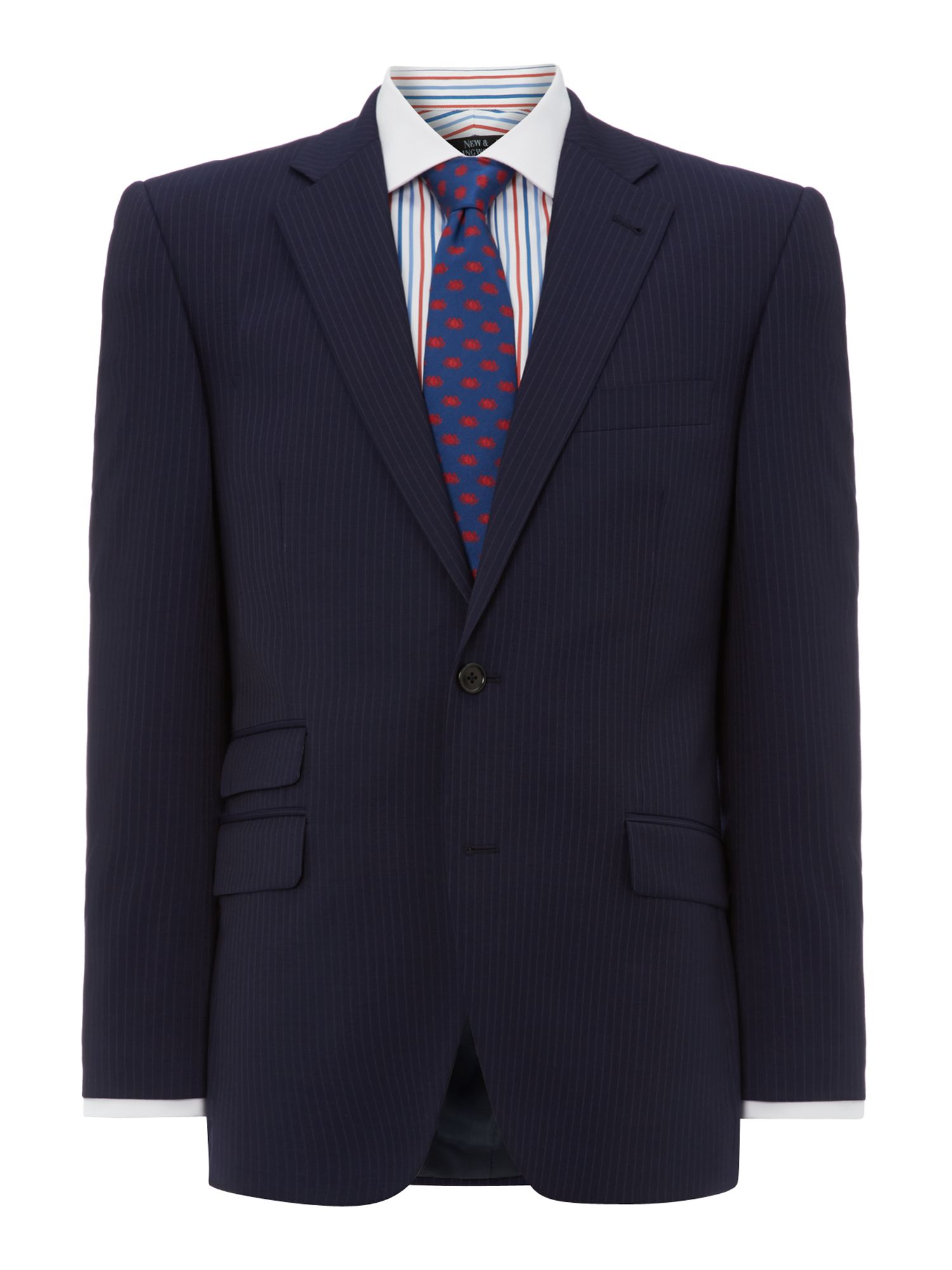 Waver Stripe Twill Suit Jacket