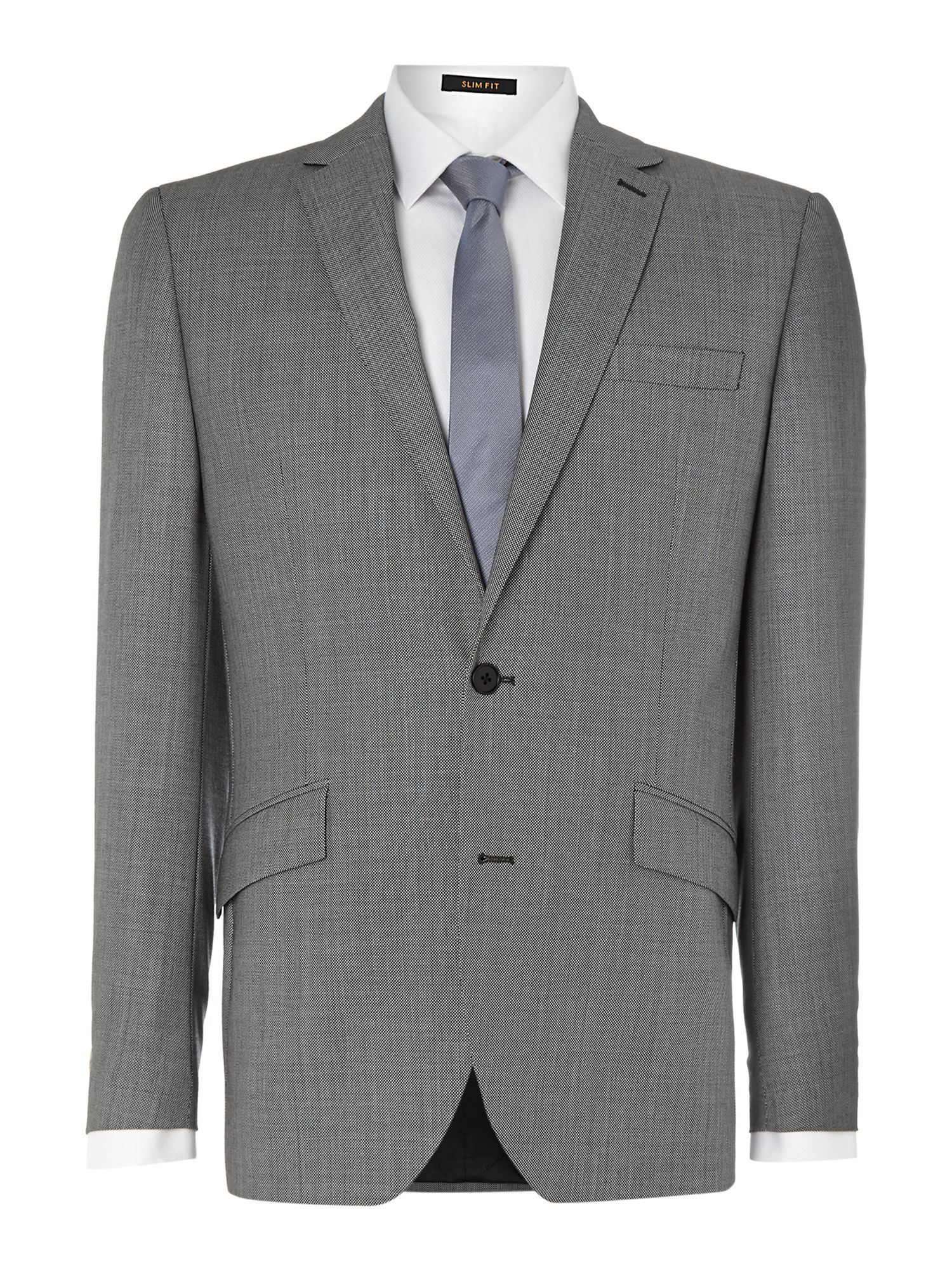 Goodnow Birdseye Notch Lapel Suit Jacket