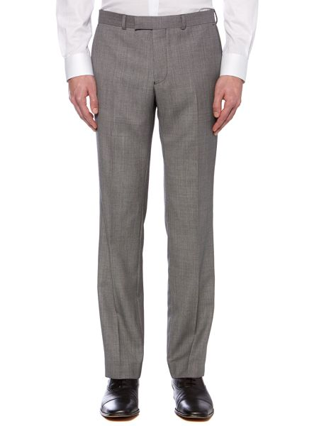 Kenneth Cole Goodnow birdseye flat front trousers