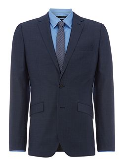 Men's Kenneth Cole Byram twill travel suit jacket
