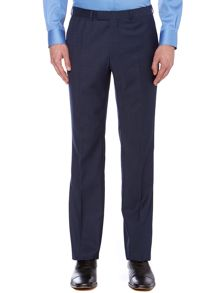 Kenneth Cole Byram denim twill travel suit trousers