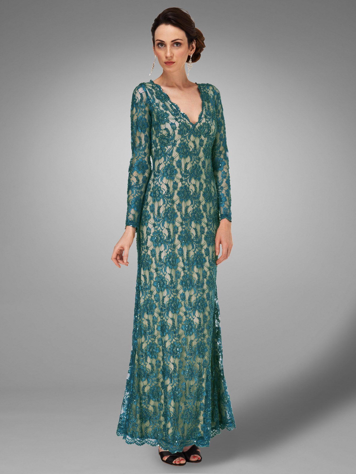 Berkeley full length dress