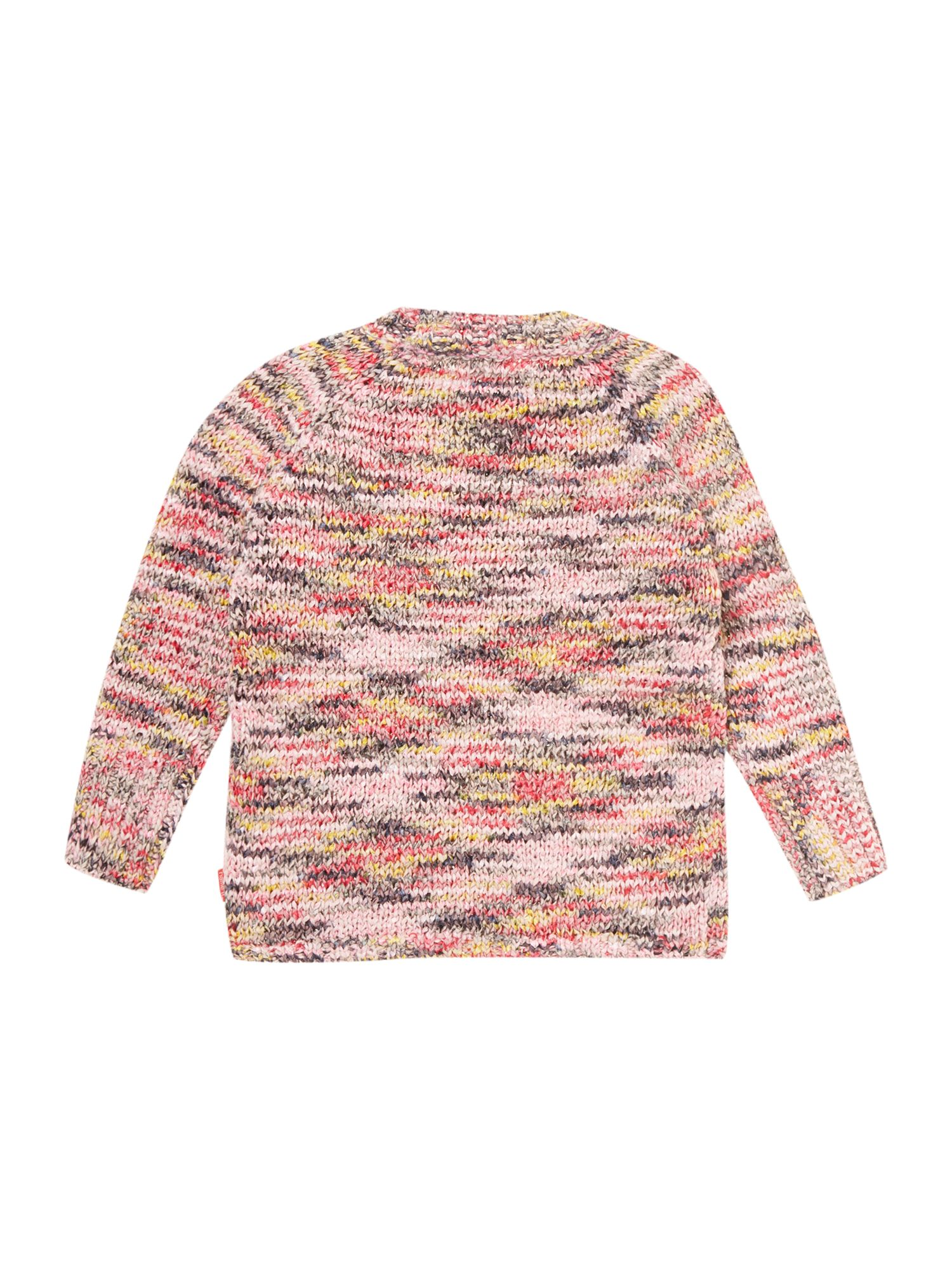 Girl`s multi-colour knit