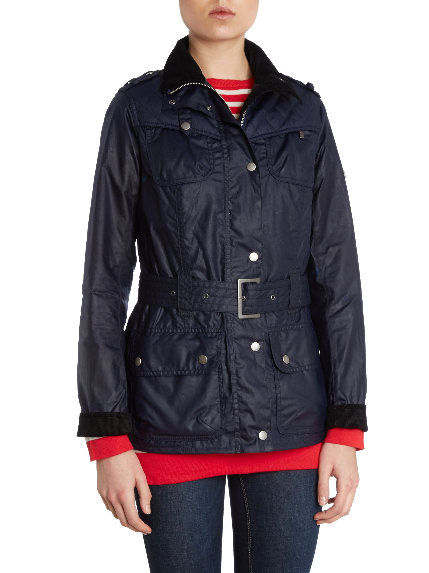 Ignition Belted Jacket