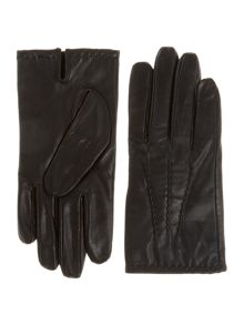 Dents men`s lined glove with touchscreen tech