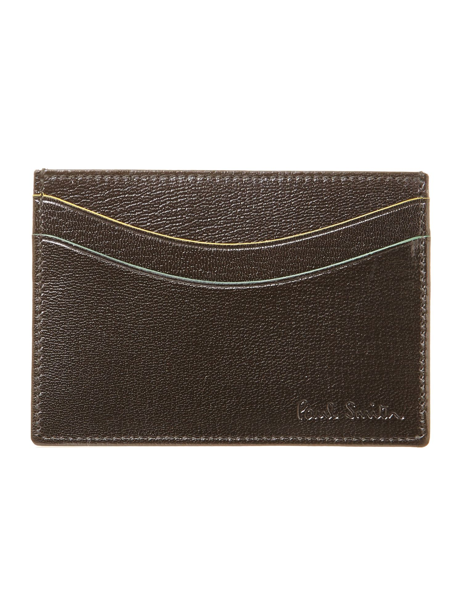 Colour flash credit card holder