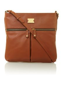 Pippa brown cross body