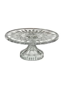 Waterford Lismore cake plate footed