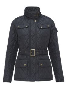Barbour International Spring tourer quilt jacket
