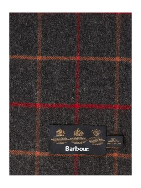 Barbour Tattersall check scarf