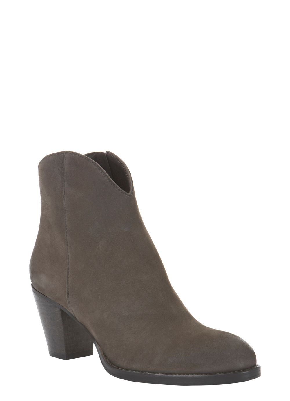 Storm grey ankle boots