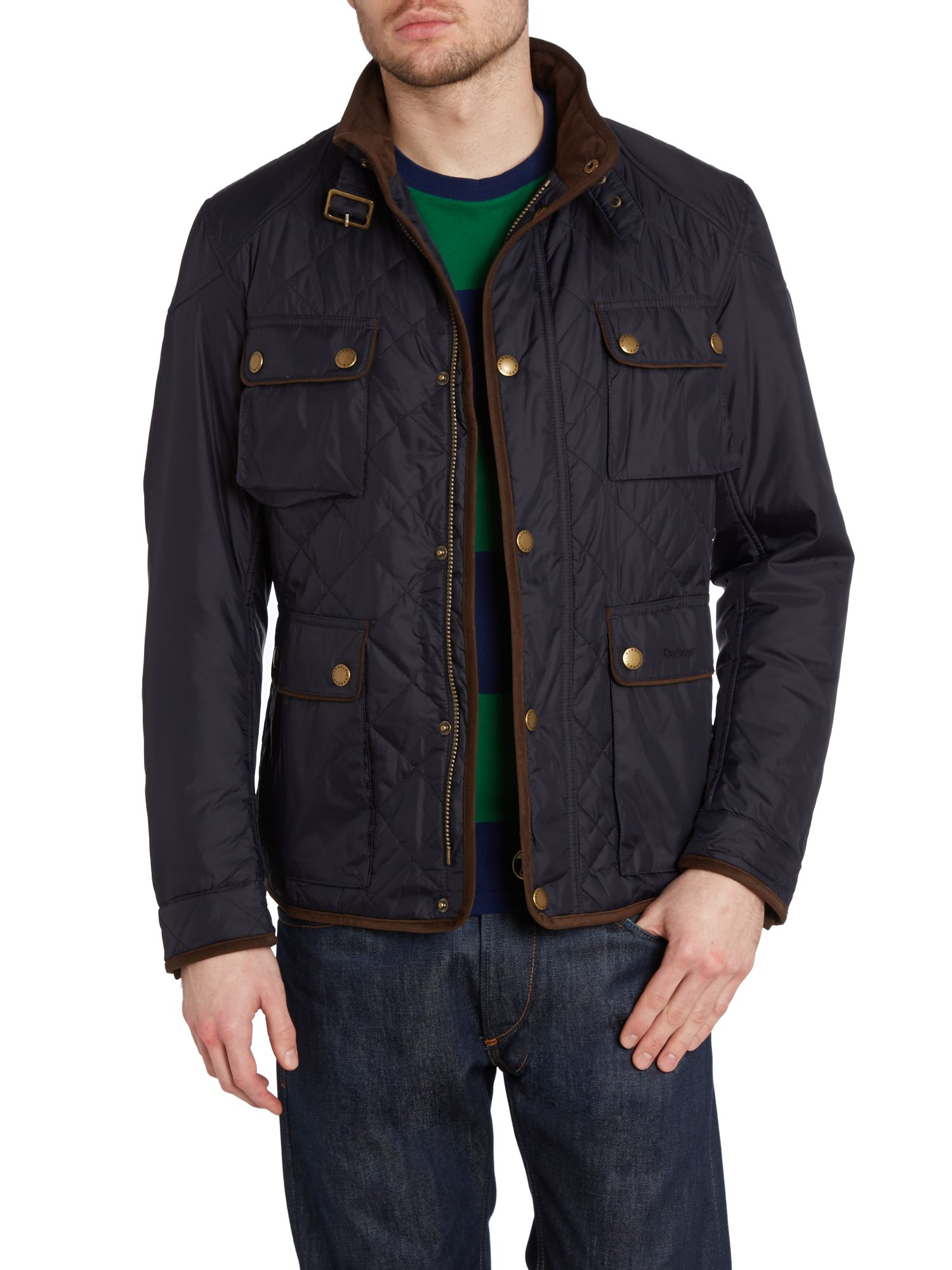Chukka quilted jacket